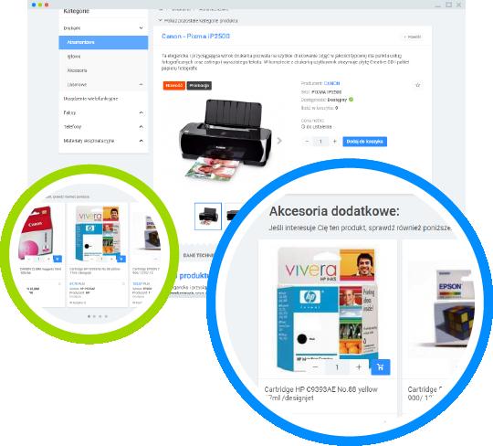 Platforma B2B - produkty powiązane i podobne