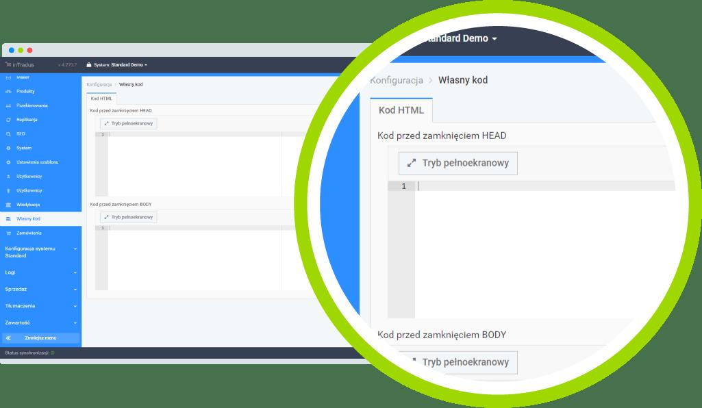 Możliwości platformy B2B - integracja z Google Analitics
